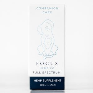 Focus Companion Care Pet CBD