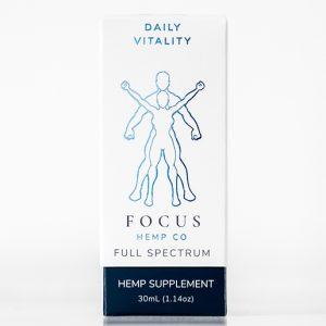 Daily Vitality CBD full spectrum hemp oil