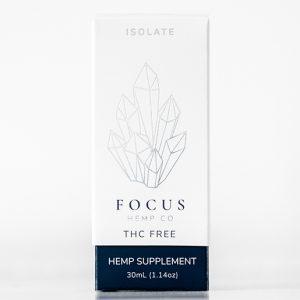 Focus THC-Free Isolate