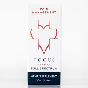 Pain Management CBD full spectrum hemp oil