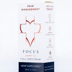 Pain Management by Focus Hemp Co