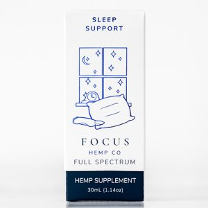 Sleep Support CBD tincture by Focus Hemp Co