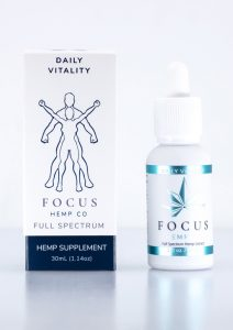 Full spectrum Daily Vitality CBD tincture - Helps with Stress and Anxiety