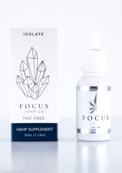THC free CBD Isolate by Focus Hemp Co
