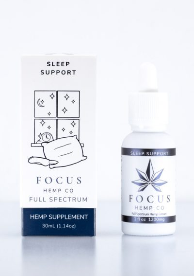 Full spectrum CBD hemp oil for sleep